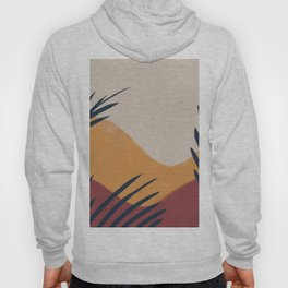 Palm Abstract Hoody
