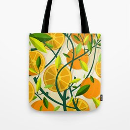 Mediterranean Oranges Tote Bag