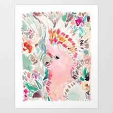 RADANA the Cockatoo Art Print
