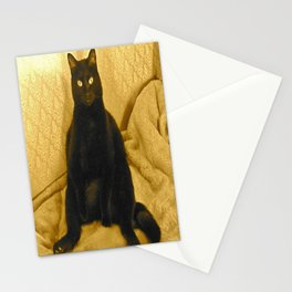 Cat-Sitting Stationery Cards