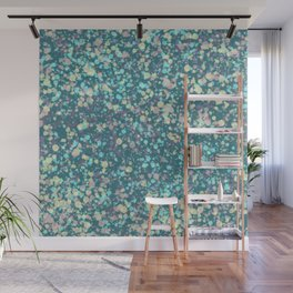 Dotted pastel colors Wall Mural