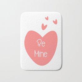 Valentine Love Be Mine Bath Mat