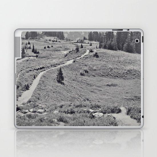 Trail B&W Laptop & iPad Skin