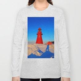 Climbing to the Lighthouse Long Sleeve T-shirt