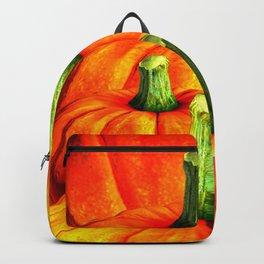 SURREAL REDDISH ORANGE FALL PUMPKINS Backpack