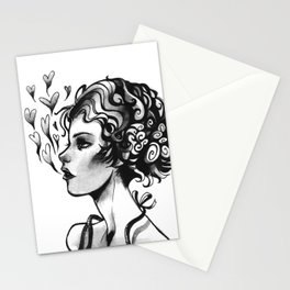 ASH HEARTS Stationery Cards