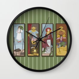 Return to Haunted Mansion Wall Clock