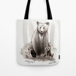 The Bearclan Tote Bag