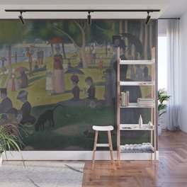 A Sunday on La Grande Jatte Wall Mural