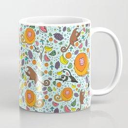 Cute Rainforest Pattern Coffee Mug