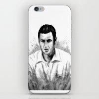 snl iPhone & iPod Skins featuring DARK COMEDIANS: Adam Sandler by Zombie Rust