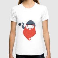 beard T-shirts featuring Beard by Volkan Dalyan