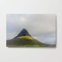 The Mighty Ones -  Kirkjufellsfoss Iceland Metal Print