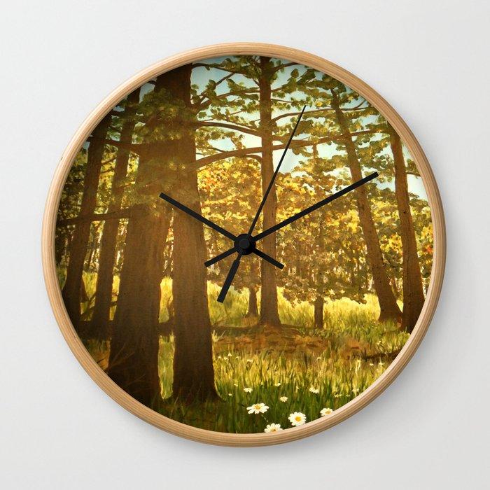 Autumn Greer Wall Clock