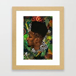 Ethereal Brother Framed Art Print
