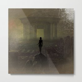Awakenings (The World Is Yours) landscape painting Metal Print