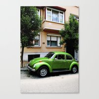 volkswagon Canvas Prints featuring Volkswagon.  by EmilyEtterPhotography