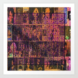 Bonk, Bonk, Magic Square! Art Print