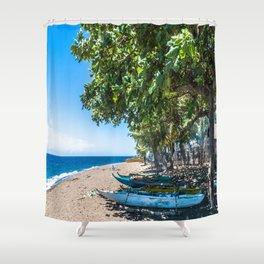 Traditional Kayaks Shower Curtain