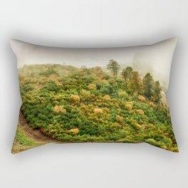 Autumn valley in the cloud Rectangular Pillow