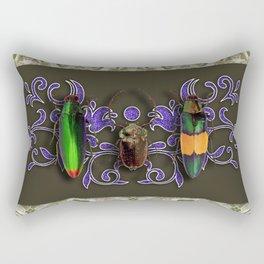 TRILOGY BEETLES I Rectangular Pillow