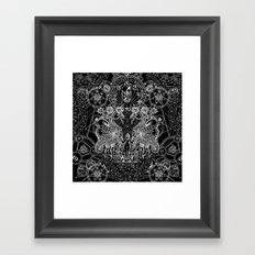 SIN OF IDOLATRY Framed Art Print