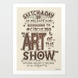Art of the Show #19 Art Print