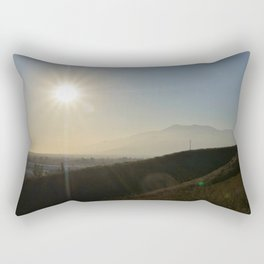 Valley of the Smokes Rectangular Pillow