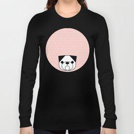 Pop Dog Pug Long Sleeve T-shirt