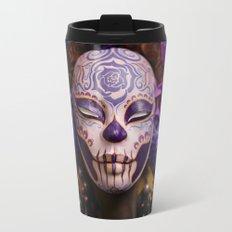 Violet Harvest Muertita Detail Travel Mug