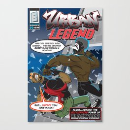 Urban Legend #2 Comic Cover  Canvas Print