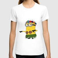 minion T-shirts featuring Hawaii Minion  by The Big Duo