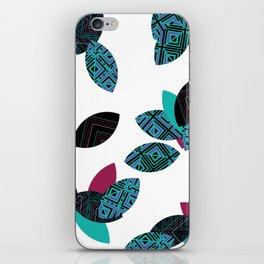 Aztec leafs Ioo iPhone Skin