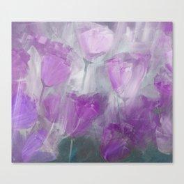 Shades of Lilac Canvas Print