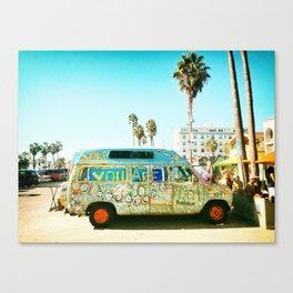 Venice Beach Art Canvas Print