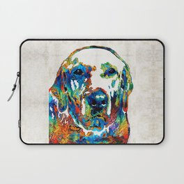 Labrador Retriever Art - Play With Me - By Sharon Cummings Laptop Sleeve