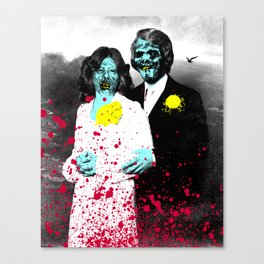 Spooky Prom 4 Canvas Print