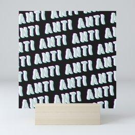 Anti - Typography Mini Art Print