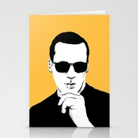 mad men Stationery Cards featuring Mad Men by Jeroen van de Ruit