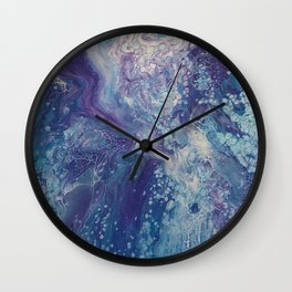 Fluid No. 21 Wall Clock