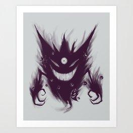 Mega Ghost Art Print