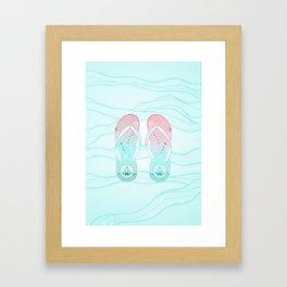 Animal d'estiu Framed Art Print