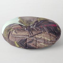 Severn Valley Token Floor Pillow