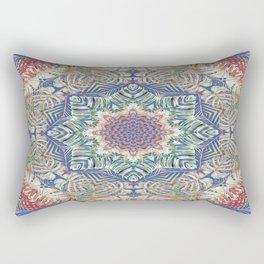 Jungle Kaleidoscope Rectangular Pillow