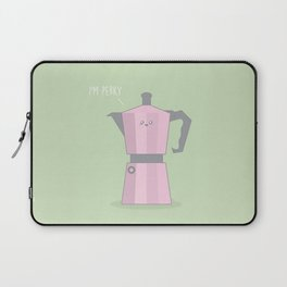I'm Perky #kawaii #coffee Laptop Sleeve