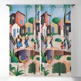 Tarsila do Amaral — Morro da Favela (Shanty Town Hill) Blackout Curtain