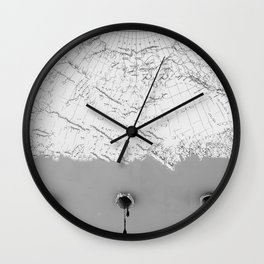 Draining Alaska Wall Clock