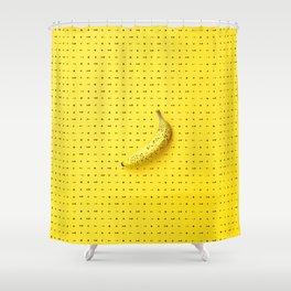 Bananagram Shower Curtain