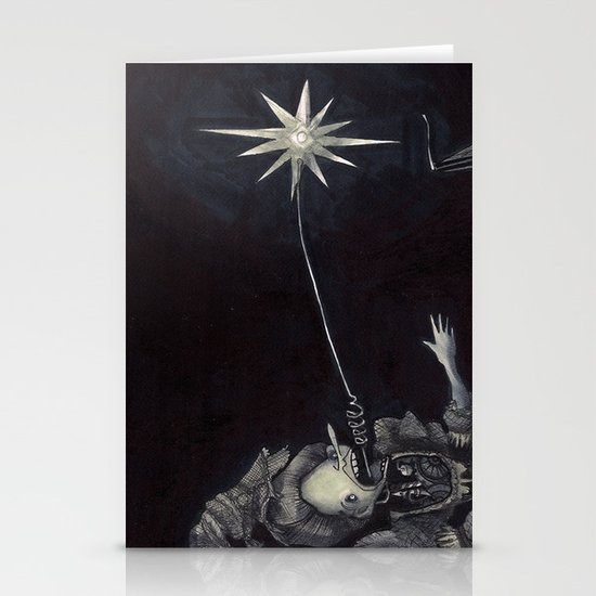 Ghost Light Stationery Cards