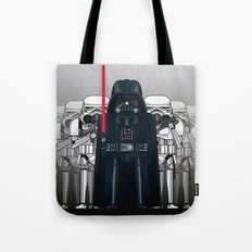 Darth Vader and Stormtroopers Tote Bag